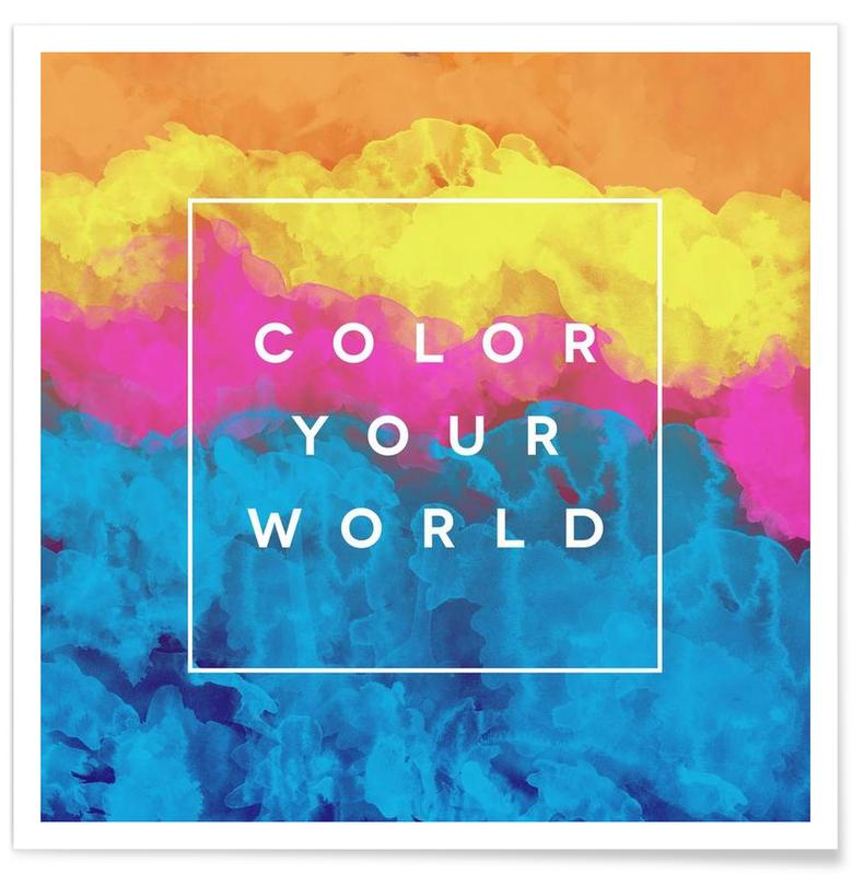 Color Your World affiche