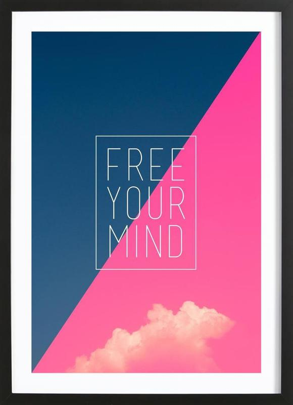 Free Your Mind III Framed Print