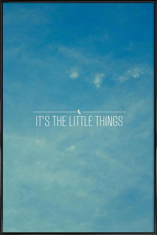 Little Things affiche encadrée
