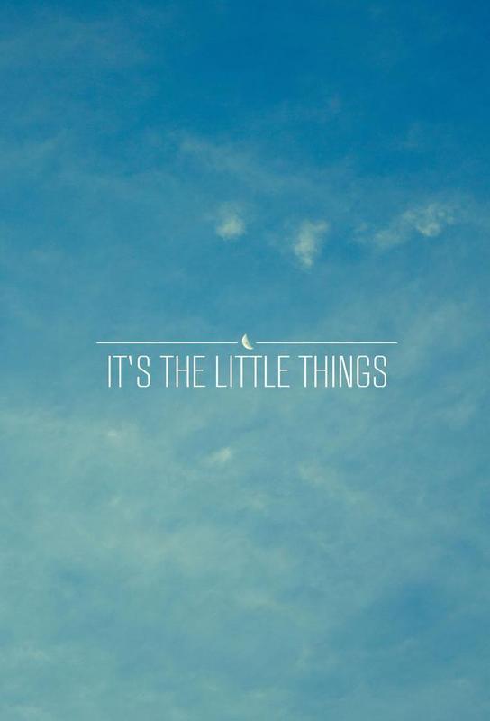 Little Things -Alubild