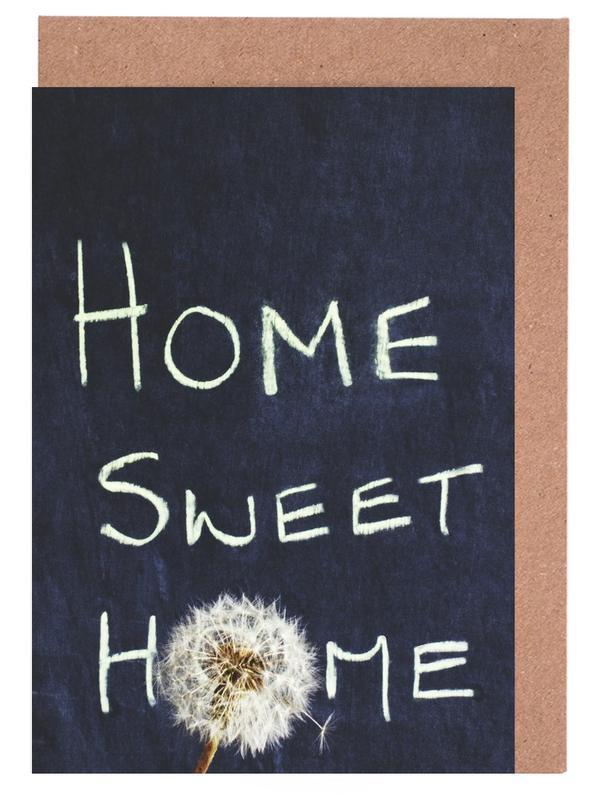 Home Sweet Home -Grußkarten-Set