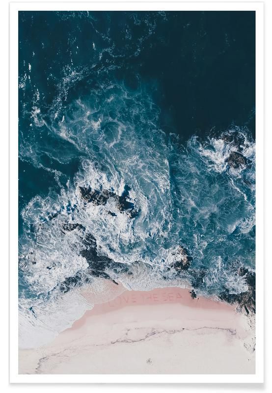 I Love The Sea -Poster