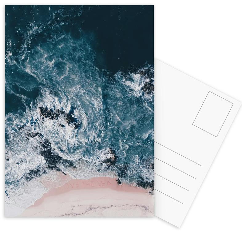 I Love The Sea Postcard Set
