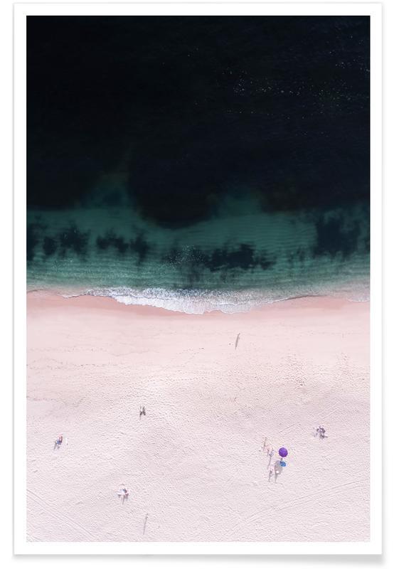 The Purple Umbrella Poster