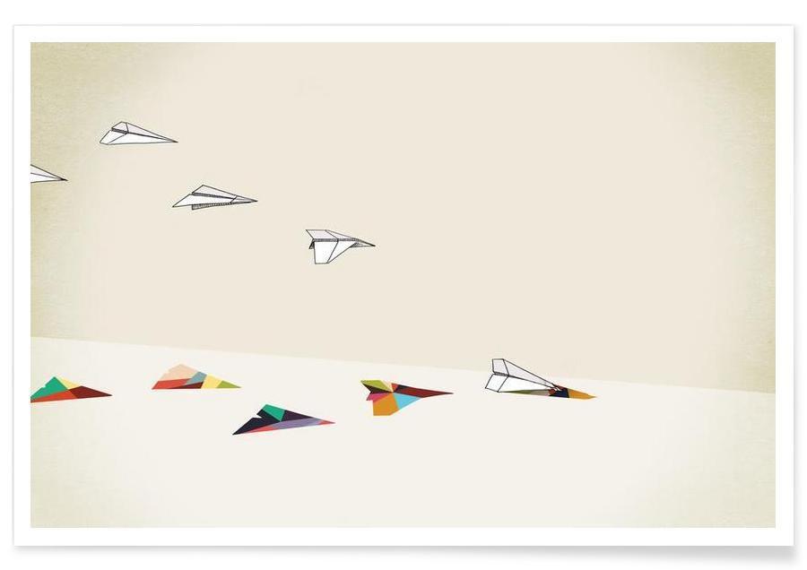 Walking Shadow - Paper Planes affiche