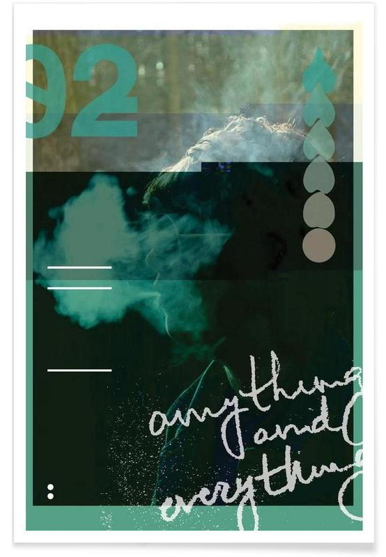 Glitch - Anything and Everything Poster