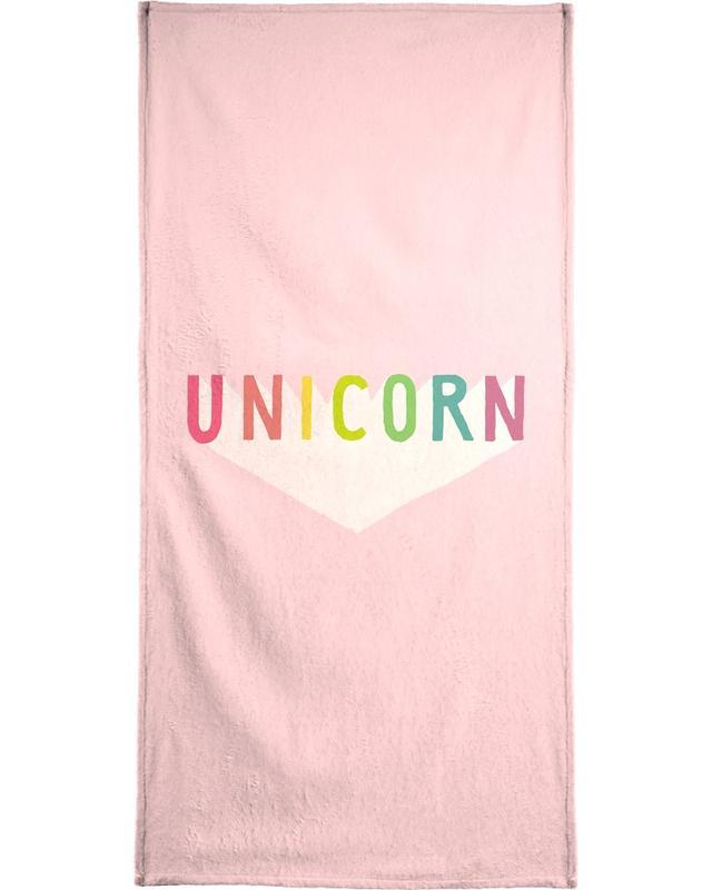 Unicorn -Strandtuch
