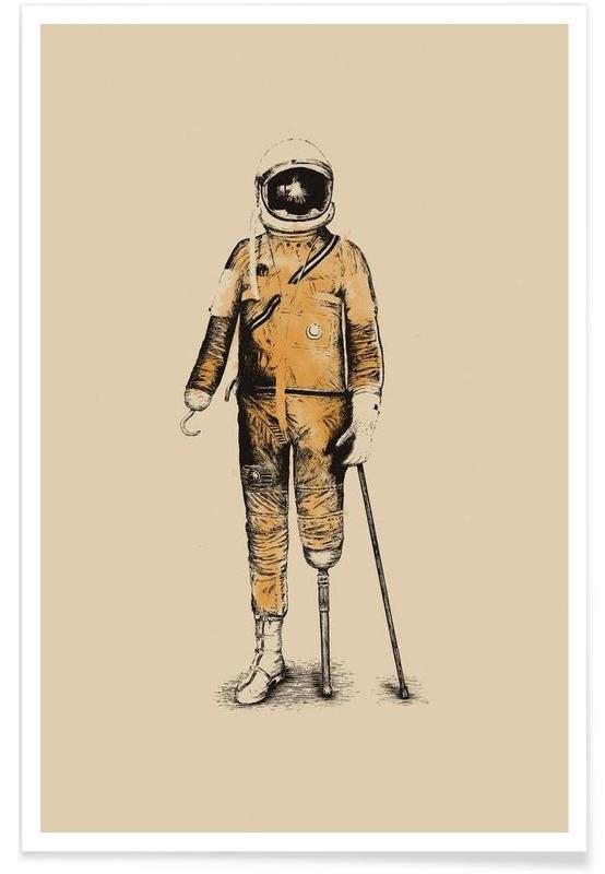 Astropirate Poster