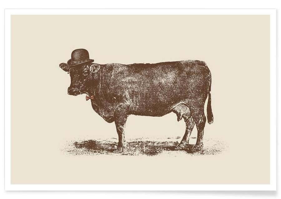 Cow Cow Nut Poster