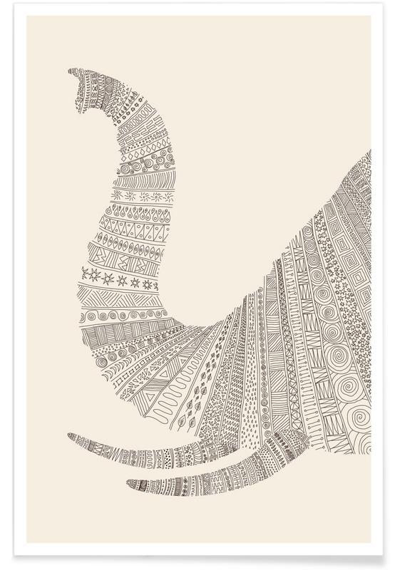 Elephant 01 Poster