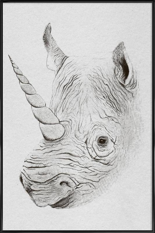 Rhinoplasty Framed Poster
