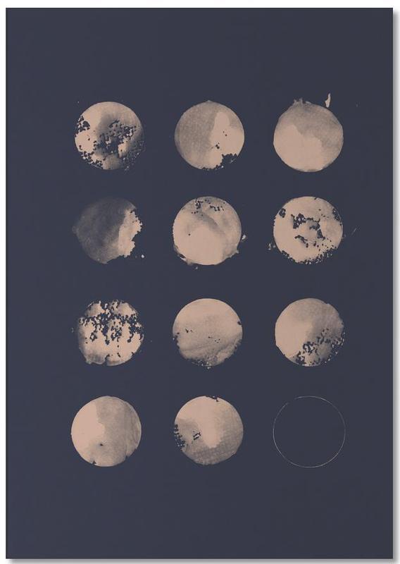 Twelve Moons -Notizblock