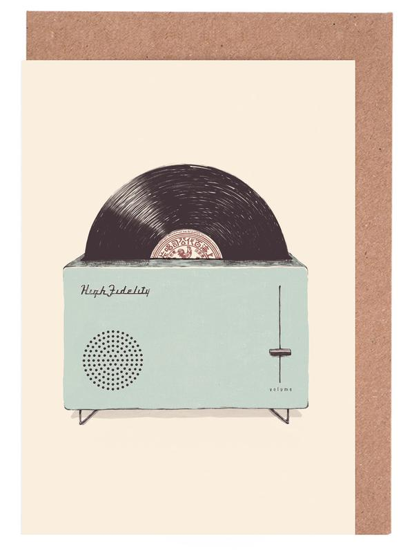 High Fidelity Toaster Greeting Card Set