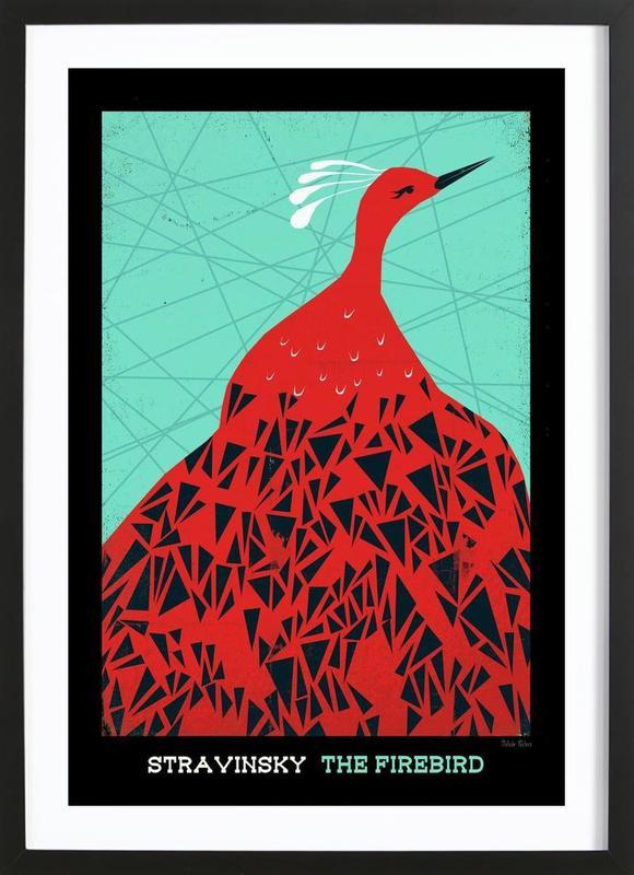 Stravinsky - Firebird ingelijste print