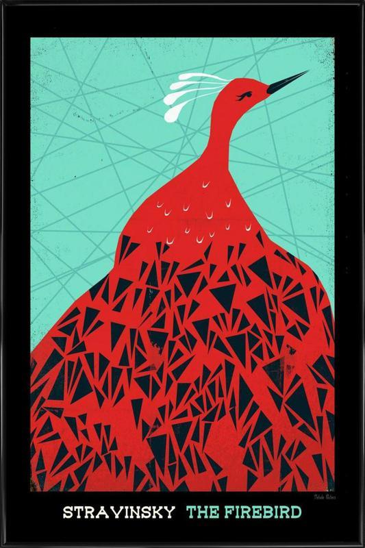 Stravinsky - Firebird ingelijste poster
