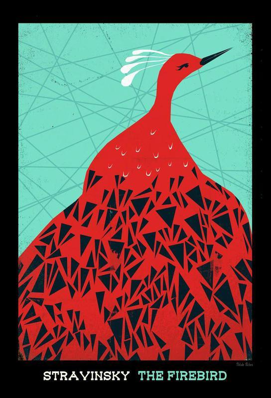 Stravinsky - Firebird alu dibond