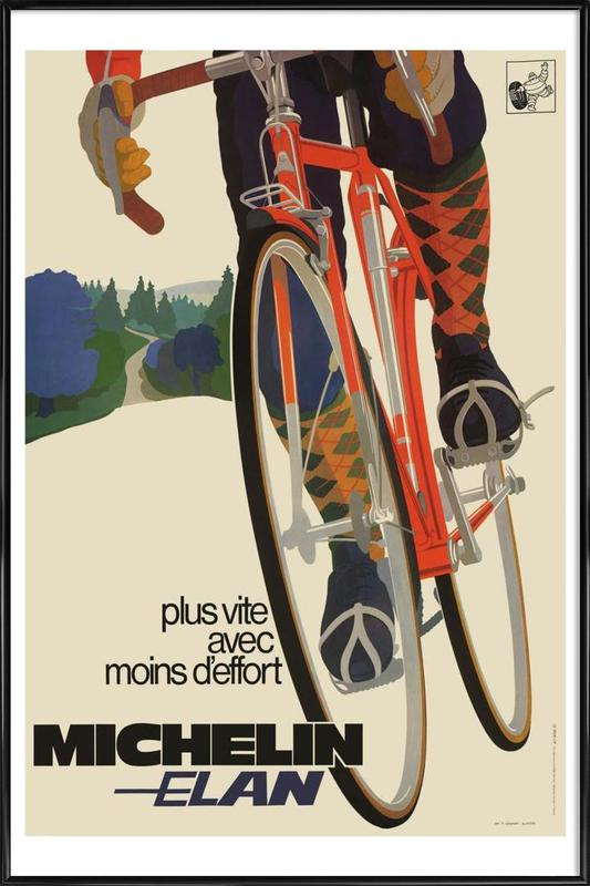bike7 Framed Poster