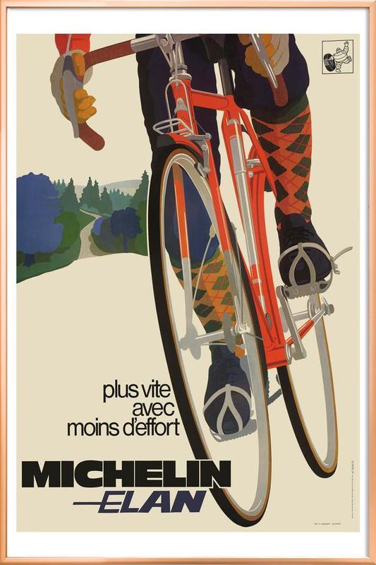 bike7 Poster in Aluminium Frame