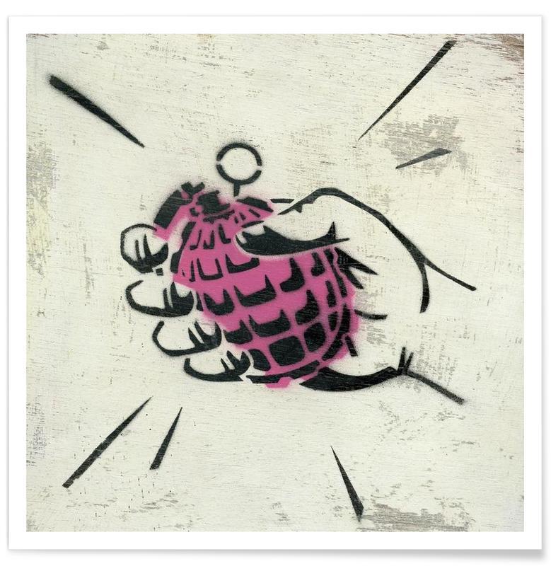 Hand Grenade -Poster