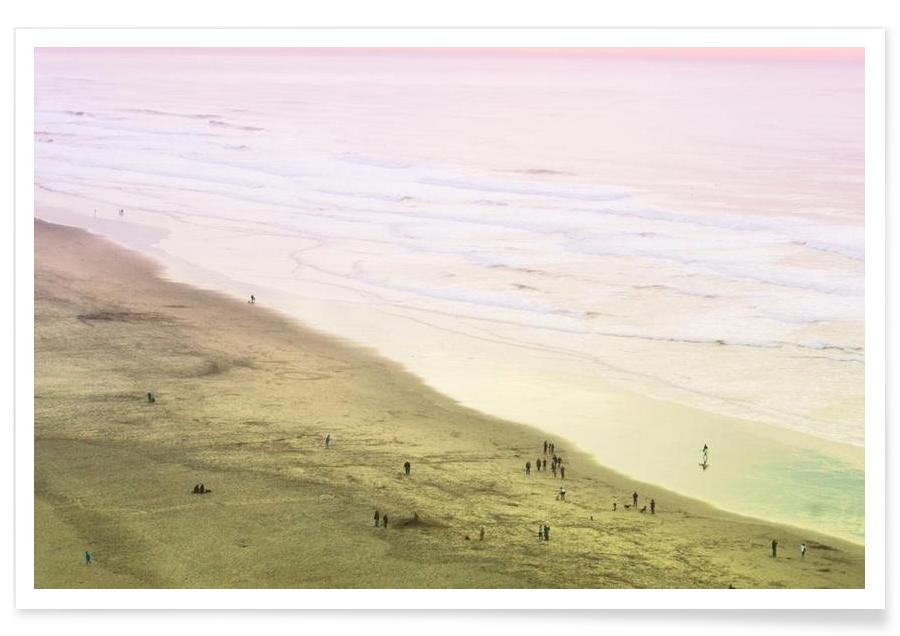 Ocean Beach California Poster
