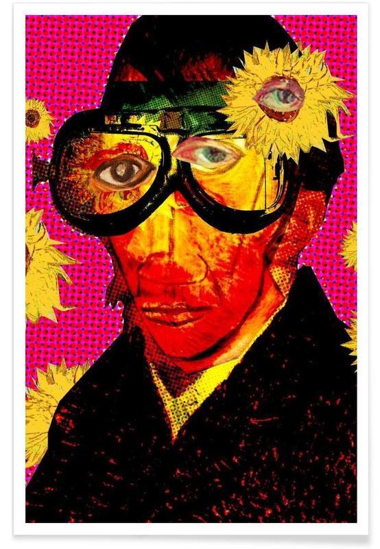 Pablo van Gogh 4 Poster