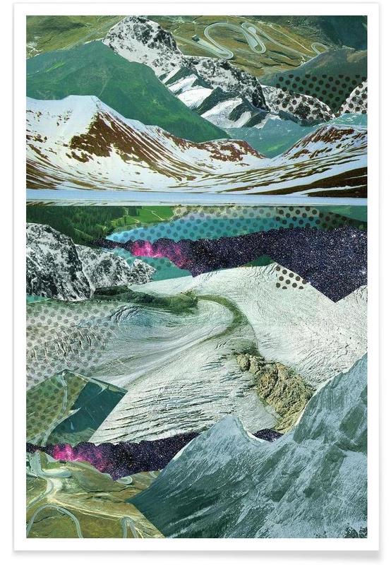 Experimente am Berg 14 Poster