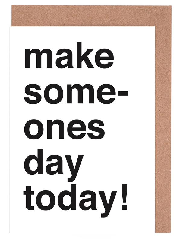 Someones day Greeting Card Set