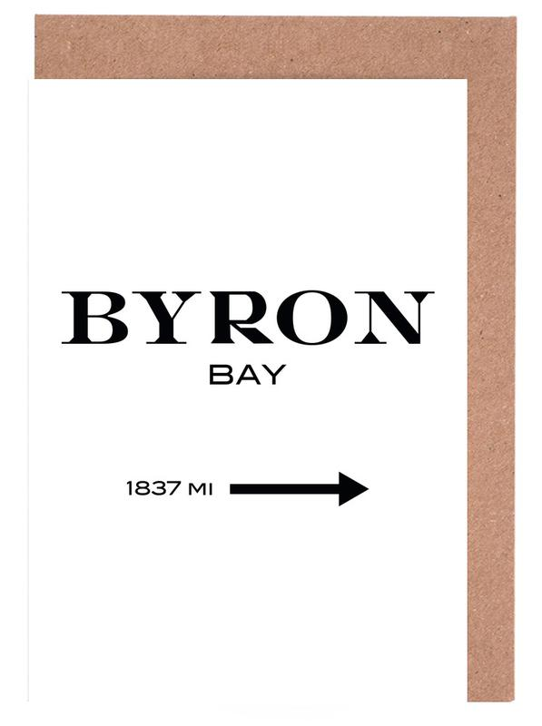 Byron Bay -Grußkarten-Set