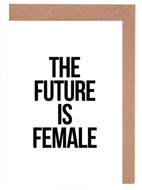 Female -Grußkarten-Set