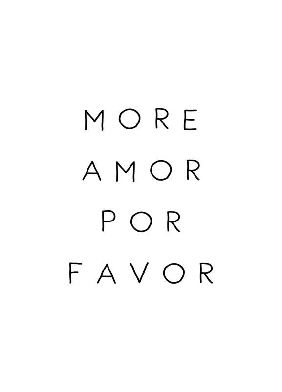 More Amor -Leinwandbild
