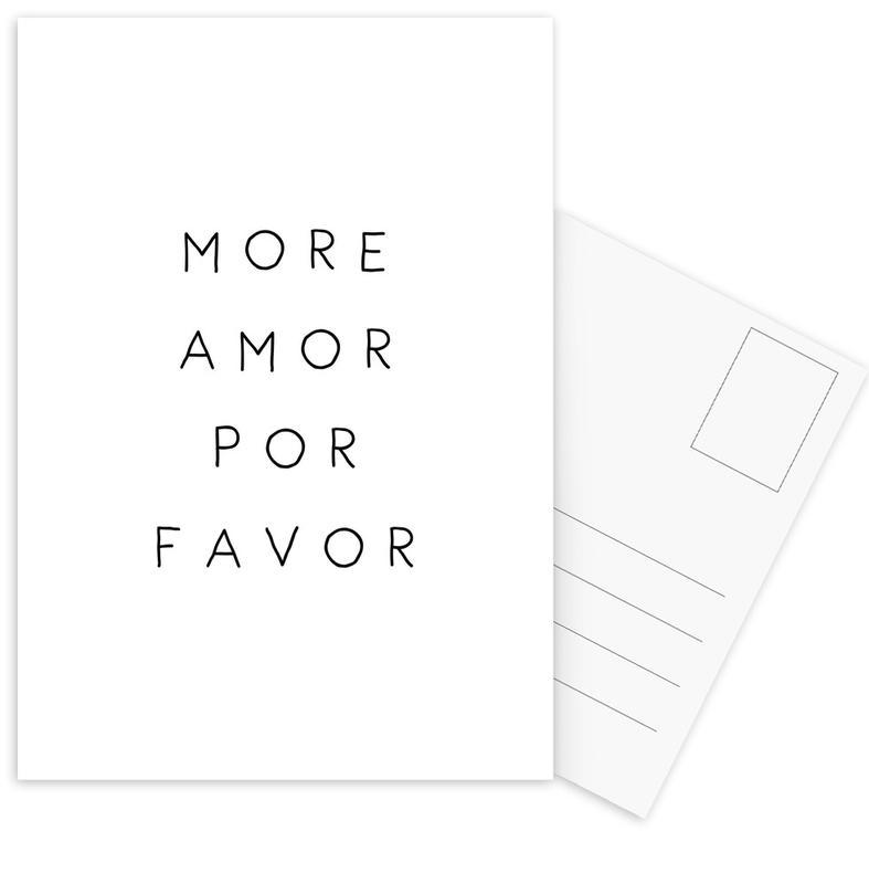 More Amor -Postkartenset