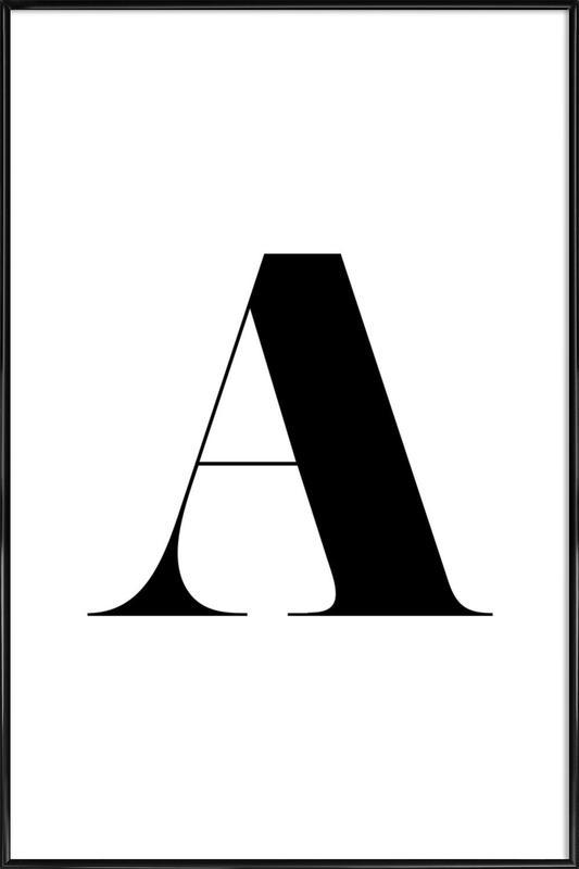 A -Bild mit Kunststoffrahmen