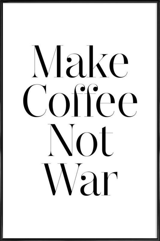 coffee ingelijste poster