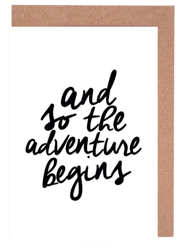 Adventure Begins cartes de vœux