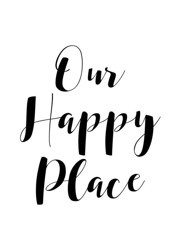 Our Happy Place -Leinwandbild