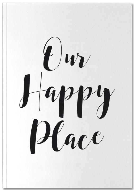 Our Happy Place Notebook