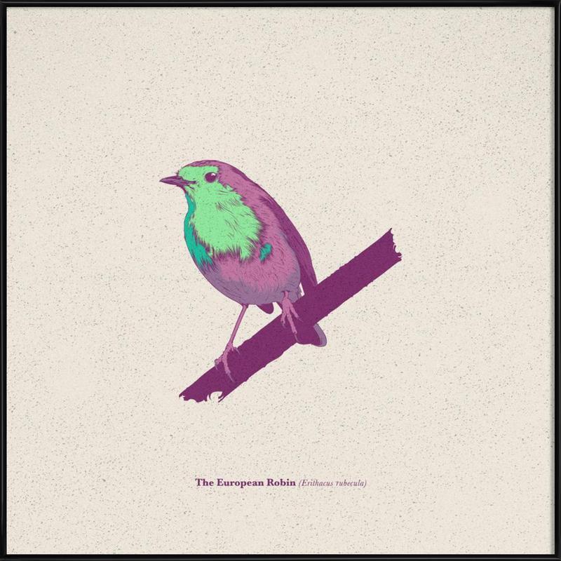 Bird 02 Framed Poster