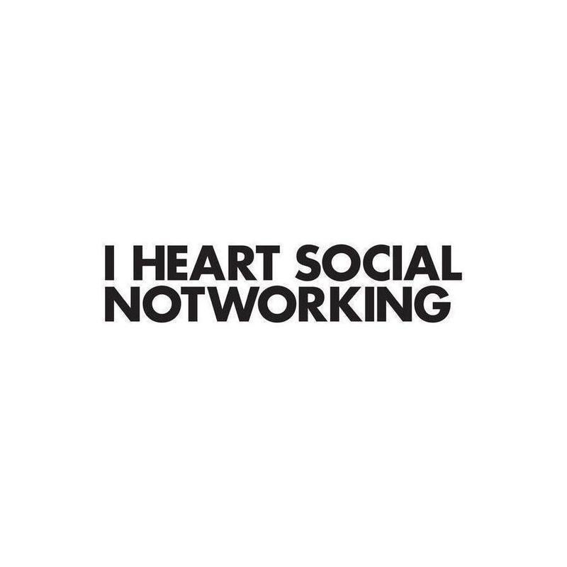 Social Notworking Canvas Print