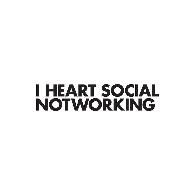 Social Notworking Acrylic Print