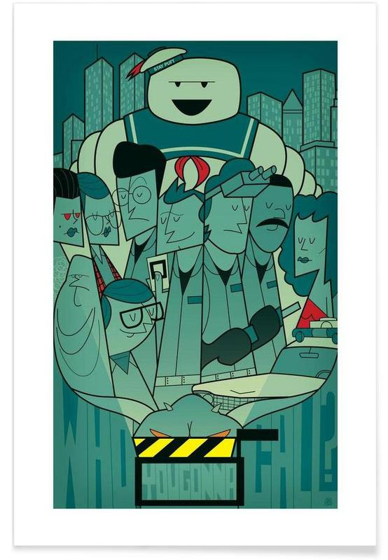 Who you gonna call? poster