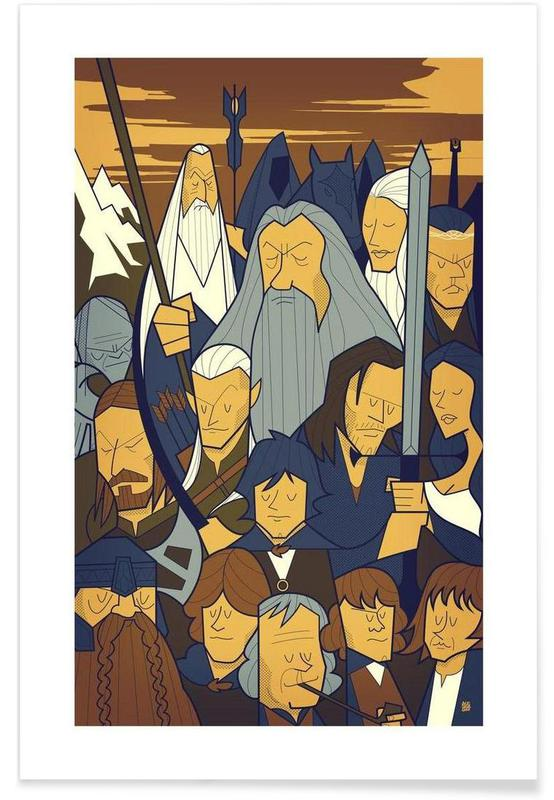 LORD OF THE RINGS 1 Poster