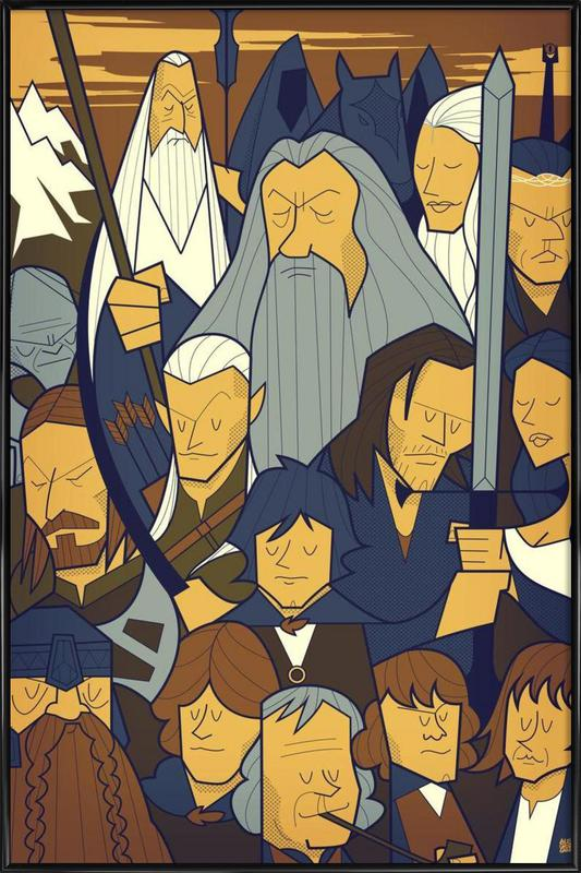 LORD OF THE RINGS 1 Framed Poster