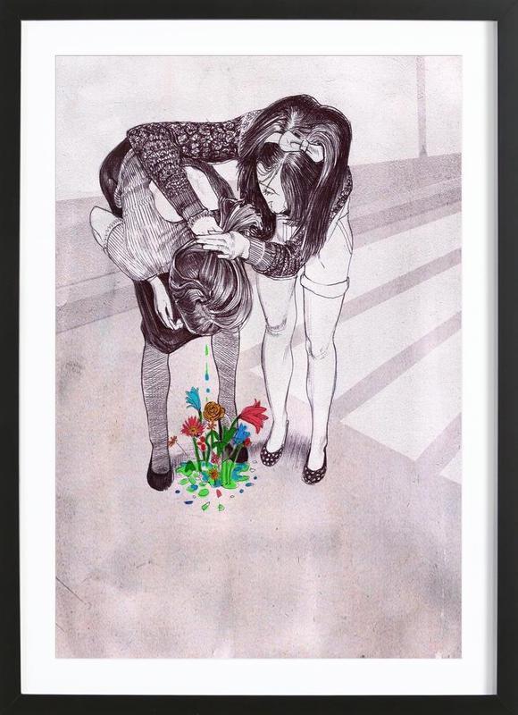 Drunked Princess Framed Print