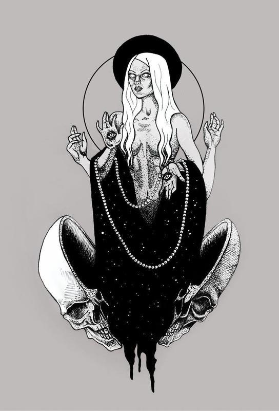 Goddess Aluminium Print