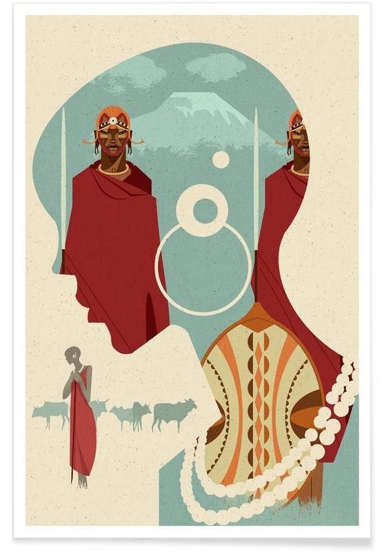 Maasai Poster