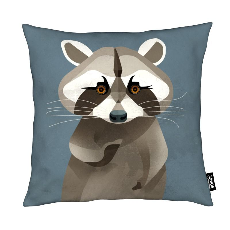 Racoon coussin
