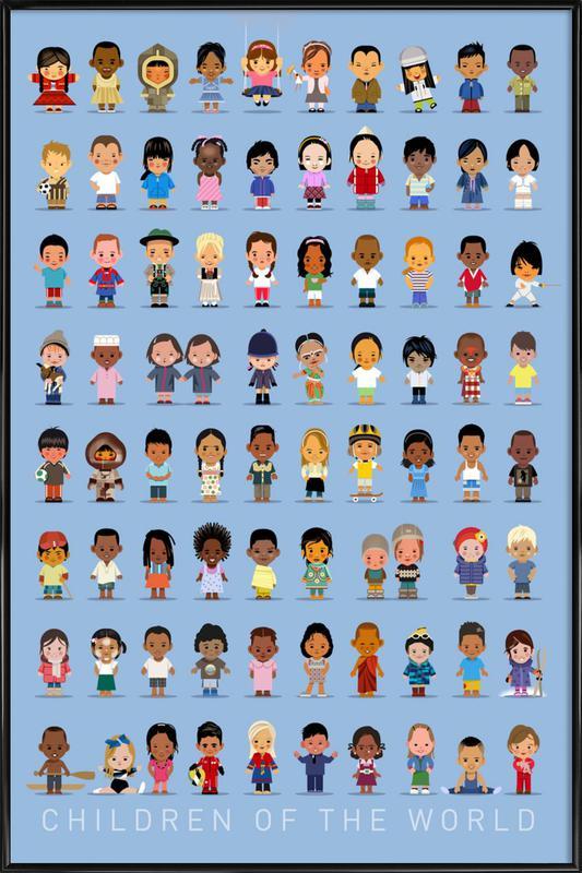 Children Of the World Framed Poster