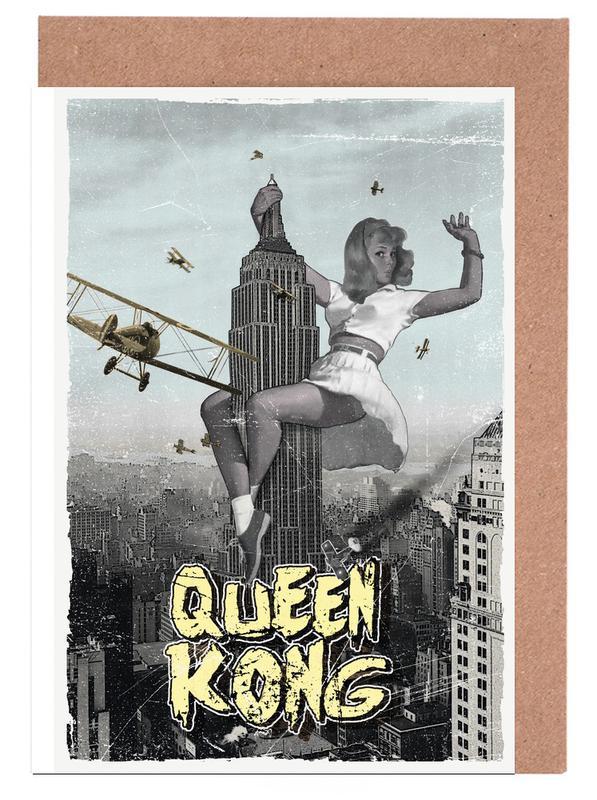 Queen Kong Greeting Card Set