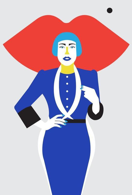 Ofelia Blue Lips -Alubild