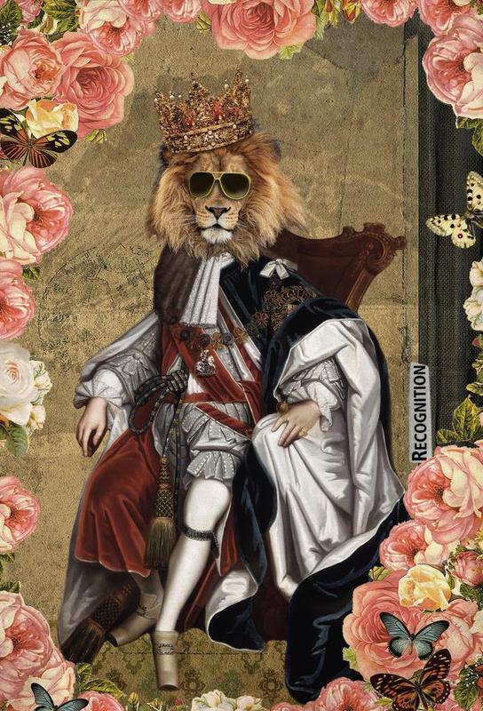 Animals: The King Acrylic Print